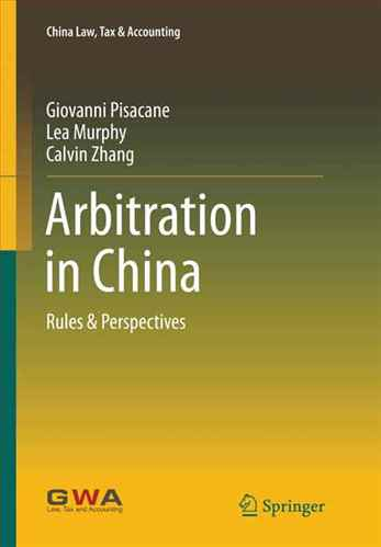 Arbitration in China