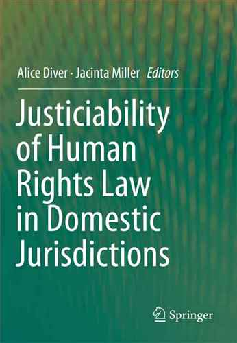 justiciability of human rights  law in domestic jurisdiction