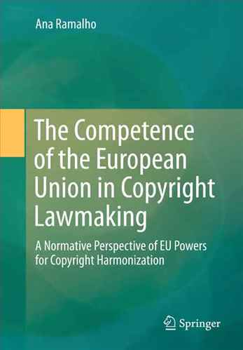 the competence of the E.U in copyright lawmaking