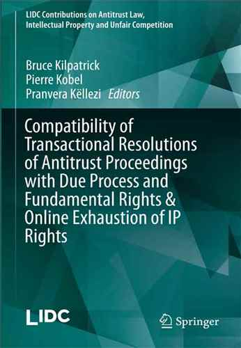 compatibility of transactional resolutions of antitrust  proceedings