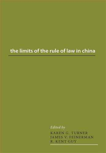 The limits of the rule of law in China
