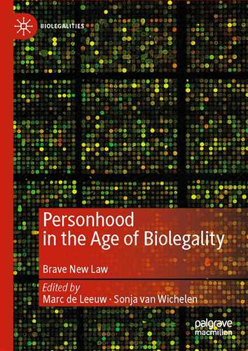 Personhood in the Age of Biolegality