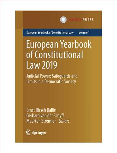 European Yearbook of Constitutional Law 2019