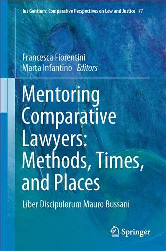 Mentoring Comparative Lawyers: Methods, Times, and Places