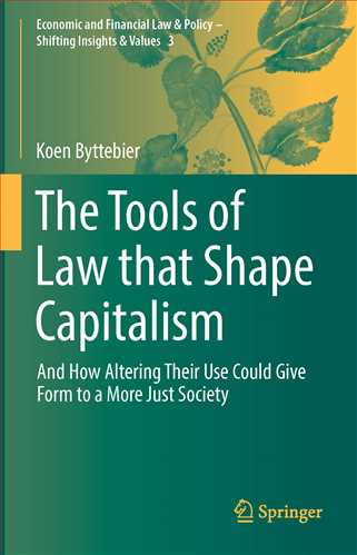 The Tools of Law that Shape Capitalism