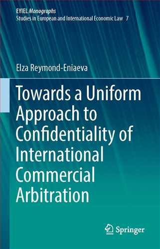 Towards a Uniform Approach to Confidentiality of International Commerc