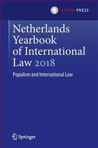 Netherlands Yearbook of International Law 2018