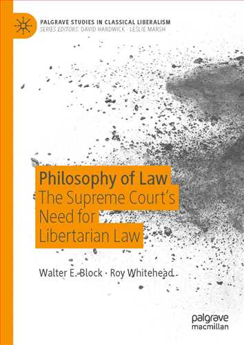 Philosophy of Law The Supreme Court's Need for Libertarian Law