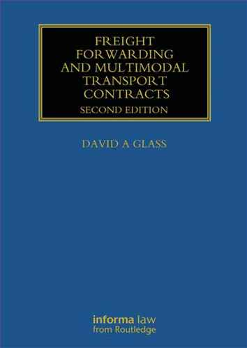 Freight Forwarding and Multimodal Transport Contracts