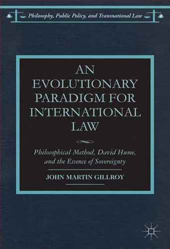 An Evolutionary Paradigm for International  law